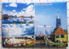 10 stuks koelkastmagneet Hindeloopen N_FR4.002