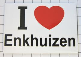 10 stuks koelkastmagneet I love Enkhuizen N_NH2.001