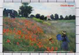 10 stuks koelkastmagneet Claude Monet 20.454