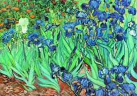 10 stuks poster op karton Irissen Vincent van Gogh POS-0007 posters(20.8Cm / 29.5Cm)