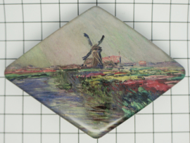 Haarspeld ruit Claude monet HAD 006