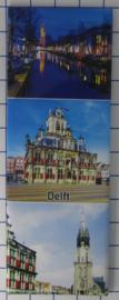 10 stuks koelkastmagneet Delft P_ZH5.0007