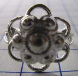 ZKR007-Z Zeeuwse Knop echt Zilver