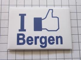 10 stuks koelkastmagneet I like Bergen N_NH6.002