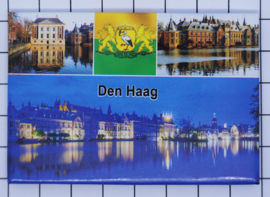 10 stuks  koelkastmagneet Den Haag Holland  N_ZH3.020