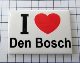 10 stuks koelkastmagneet I love Den Bosch N_NB3.001