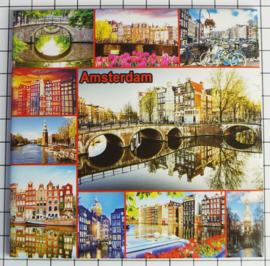 10 stuks Mega koelkastmagneet Amsterdam MEGA_V_20.004
