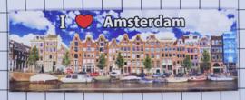 10 stuks koelkastmagneet Amsterdam  UNESCO 22.015