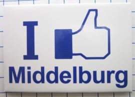 10 stuks koelkastmagneet I like Middelburg Zeeland N_ZE2.002
