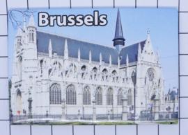 koelkastmagneet Brussels N_BX036
