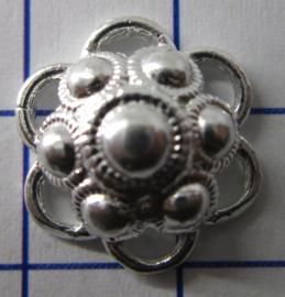 ZB204-Z Zeeuwse Knop echt Zilver