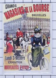 koelkastmagneet Brussels N_BX025