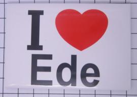 10 stuks koelkastmagneet  I love Ede  N_GE6.001