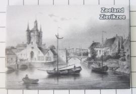 10 stuks koelkastmagneet Zierikzee Zeeland N_ZE6.005