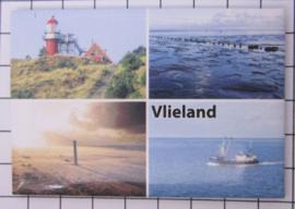 10 stuks koelkastmagneet  Vlieland N_FR8.002