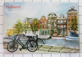 10 Stuks koelkastmagneet  Amsterdam   MAC:20.043