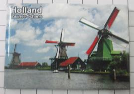 10 stuks koelkastmagneet  Holland 20.254