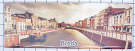10 stuks koelkastmagneet Breda P_NB4.0006
