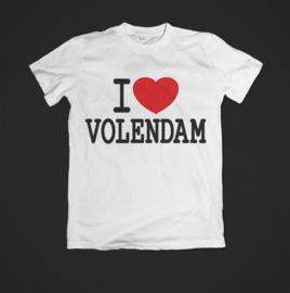 T-shirt I love volendam uitverkocht