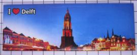 10 stuks koelkastmagneet Delft P_ZH5.0015