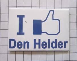 10 stuks koelkastmagneet I like Den Helder  N_NH8.002