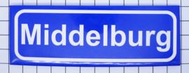10 stuks koelkastmagneet plaatsnaambord Middelburg Zeeland P_ZE2.0001