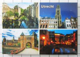 10 stuks koelkastmagneet  Utrecht N_UT1.027