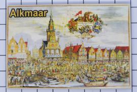 10 stuks koelkastmagneet Alkmaar N_NH7.008