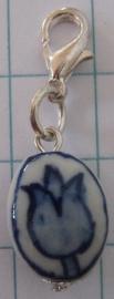 clipje delftsblauw tulpje CLI 019