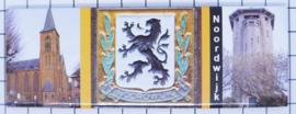 10 stuks koelkastmagneet Noordwijk P_ZH10.0004