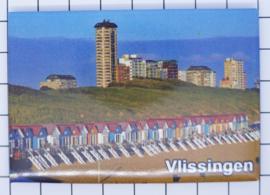 10 stuks koelkastmagneet Vlissingen Zeeland N_ZE5.513
