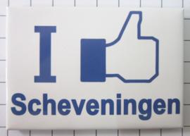 10 stuks koelkastmagneet I like Scheveningen N_ZH9.002