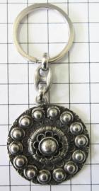 Sleutelhanger Zeeuwse knop 4 cm doorsnede ZKG401