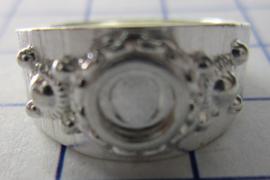 ZKR001-Z Zeeuwse Knop echt Zilver