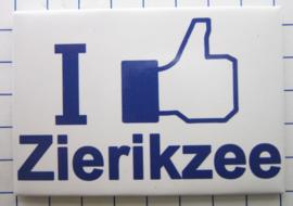10 stuks koelkastmagneet I like Zierikzee Zeeland N_ZE6.002
