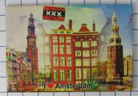 10 stuks koelkastmagneet Amsterdam 19.036