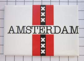 10 stuks koelkastmagneet  Amsterdam   MAC:20.022