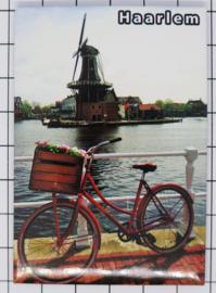 10 stuks koelkastmagneet  Haarlem N_NH5.011