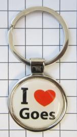 SLE_ZE4.001 Sleutelhanger I love Goes