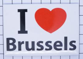 koelkastmagneet I Love Brussels N_BX001