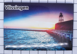10 stuks koelkastmagneet Zeeland Vlissingen N_ZE5.509