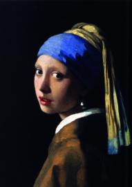10 stuks poster op karton Meisje met de parel Johannes Vermeer POS-0002 posters(20.8Cm / 29.5Cm)