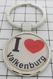 SLE_LI2.001 Sleutelhanger I love Valkenburg