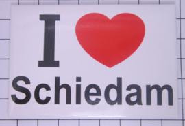 10 stuks koelkastmagneet I love Schiedam N_ZH8.003