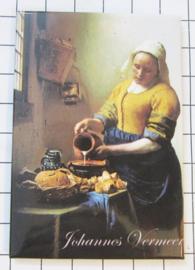 10 stuks koelkastmagneet Johannes Vermeer  MAC:20.301