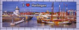 10 stuks koelkastmagneet Harlingen P_FR7.0002