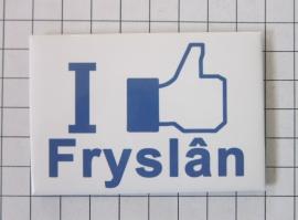 10 stuks koelkastmagneet I like Fryslân N_FR1.001