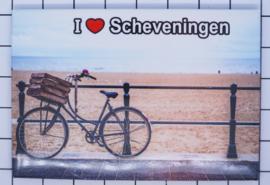 10 stuks koelkastmagneet Scheveningen N_ZH9.008