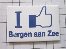 10 stuks koelkastmagneet I like Bergen aan Zee N_NH6.503