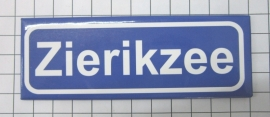 10 stuks koelkastmagneet plaatsnaambord Zierikzee Zeeland P_ZE6.0001